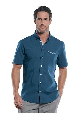 Engbers Sommerliches Kurzarmhemd mit floralen Kontrastdetails kaufen