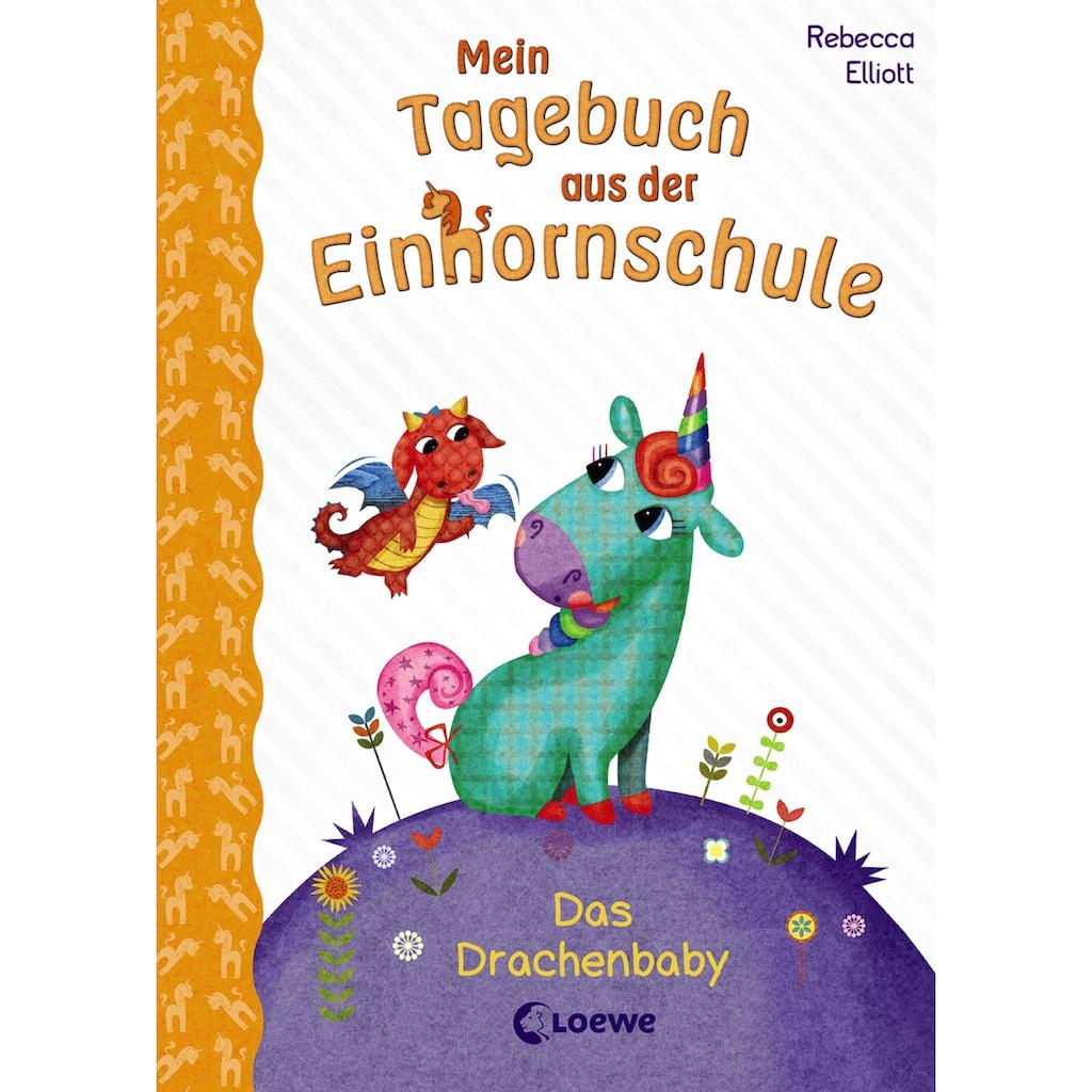 Buch »Mein Tagebuch aus der Einhornschule - Das Drachenbaby / Rebecca Elliott, Loewe Kinderbücher, Rebecca Elliott, Elke Karl«