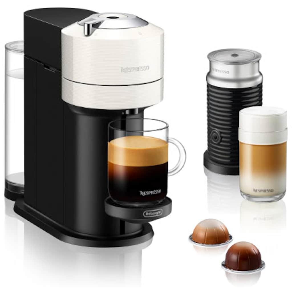 Nespresso Kapselmaschine »ENV 120.WAE Vertuo Next«, inkl. Aeroccino Milchaufschäumer, weiß
