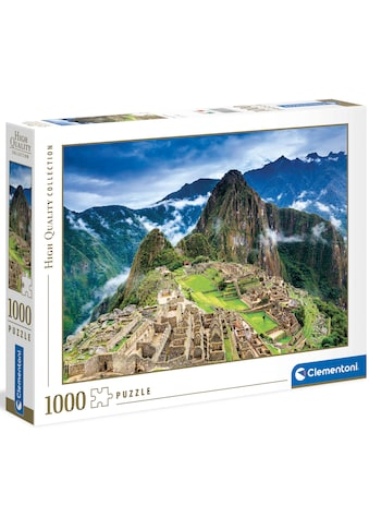 Clementoni® Puzzle »High Quality Collection - Machu Picchu«, Made in Europe, FSC® -... kaufen