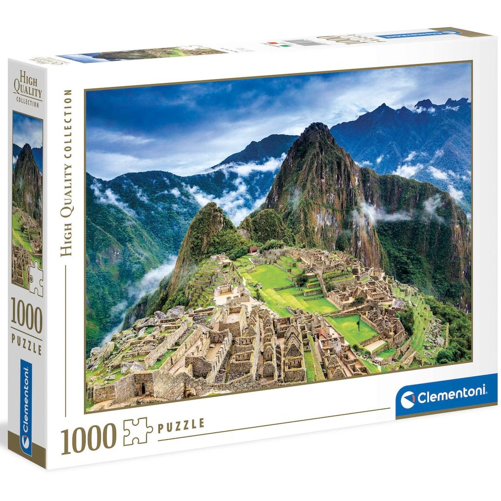 Clementoni® Puzzle »High Quality Collection - Machu Picchu«, Made in Europe, FSC® - schützt Wald - weltweit