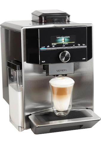 SIEMENS Kaffeevollautomat EQ.9 s400 TI924501DE, 2,3l Tank, Scheibenmahlwerk kaufen