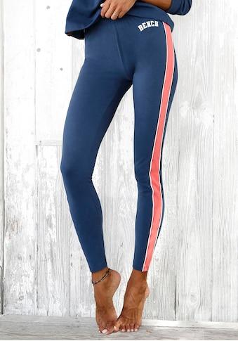 Bench. Leggings »Tricolore«, mit Seitenstreifen und Logostickerei kaufen
