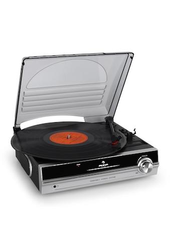 Auna Plattenspieler HiFi Riemenantrieb Nadel integrierte Lautsprecher »TBA 928« kaufen