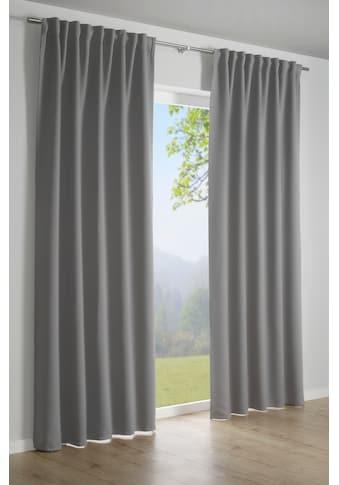 Vorhang, »Dimout«, GARDINIA, verdeckte Schlaufen 1 Stück kaufen