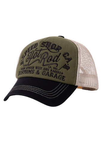 KingKerosin Trucker Cap »Hot Rod«, mit Front-Stickerei kaufen