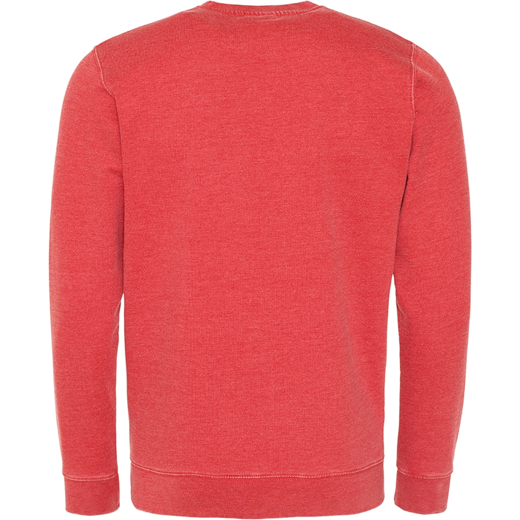 AWDIS Rundhalspullover »Hoods Herren Langarm Washed Look Sweatshirt«