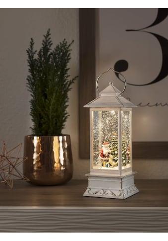 KONSTSMIDE LED Wasserlaterne mit Weihnachtsmann und Hund kaufen