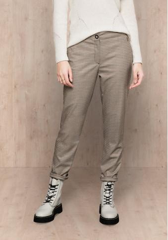 bianca Stretch-Hose »SIENA«, im angesagten Karo-Look mit Gummibund kaufen
