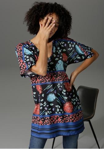 Aniston CASUAL Tunika, mit trendigen Mustern bedruckt - NEUE KOLLEKTION kaufen