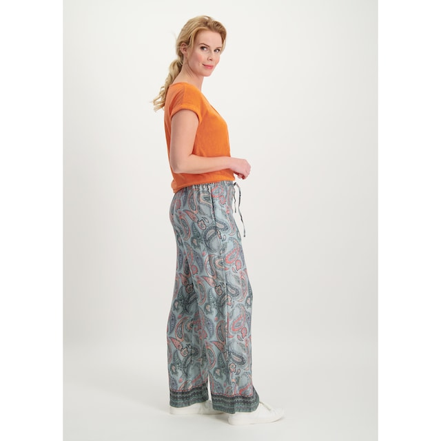 Loom&Lace Palazzohose mit Paisley-Druck »Marcia«