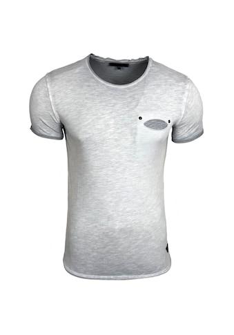 Rusty Neal T-Shirt mit Brusttasche kaufen