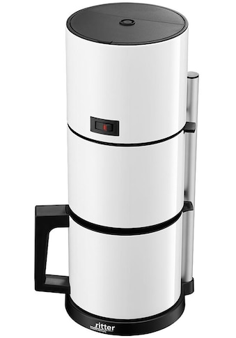 Ritter Filterkaffeemaschine »cafena 5 weiß«, Papierfilter, 1x4 kaufen