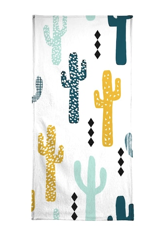 """Handtuch """"Cactus Mustard"""", Juniqe kaufen"""
