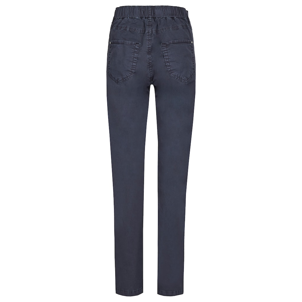 ANGELS Straight-Jeans, 'Tama' in Coloured Denim