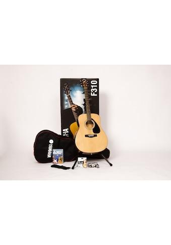 Yamaha Westerngitarre »Dreadnought Westerngitarrenset mit Gitarrenständer«, 4/4 kaufen