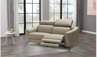 Places of Style 2-Sitzer »Valerio«, mit 1 elektrischer Relaxfunktion und USB-Anschluß kaufen