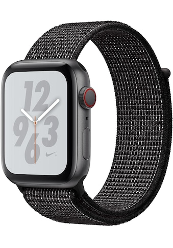 Nike+ Series 4 GPS + Cellular, Aluminiumgehäuse mit Nike Sportarmband Loop 44 mm Watch, Apple kaufen