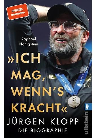 """Buch »""""Ich mag, wenn's kracht."""" / Raphael Honigstein« kaufen"""