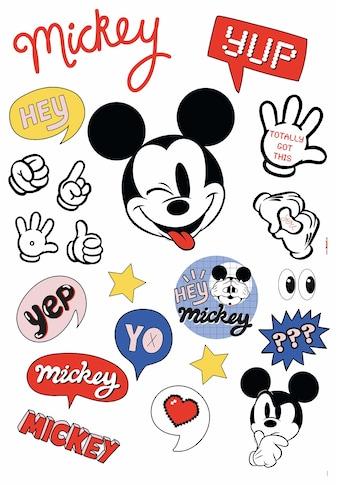 Komar Wandsticker »Ist a Mickey Thing«, 50 x 70 cm (Breite x Höhe) - 21 Sticker kaufen