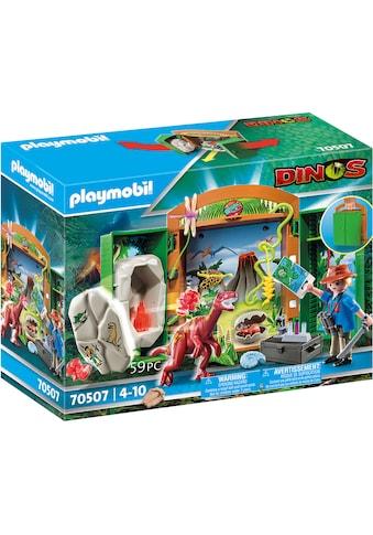 Playmobil® Konstruktions-Spielset »Spielbox Dinoforscher (70507), Dinos«, (59 St.) kaufen