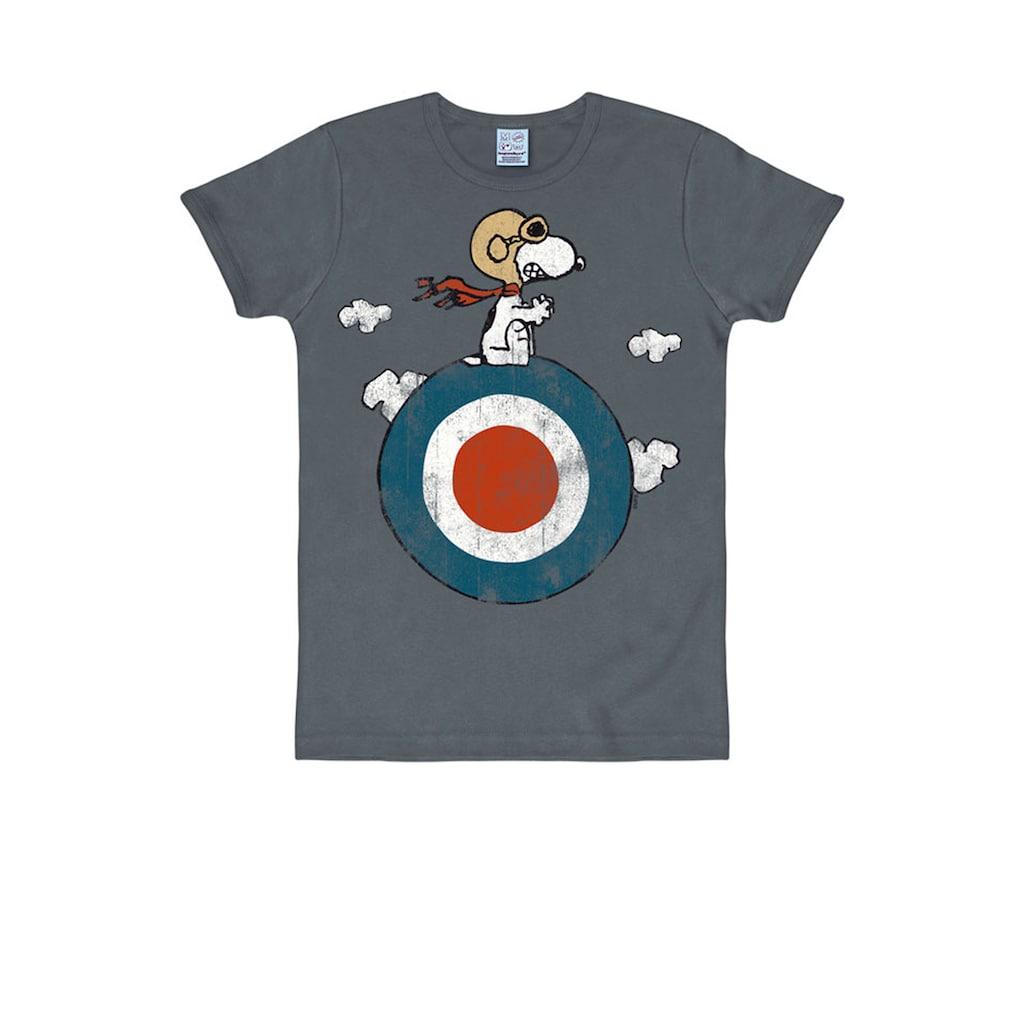 LOGOSHIRT T-Shirt mit niedlichem Vintage-Print