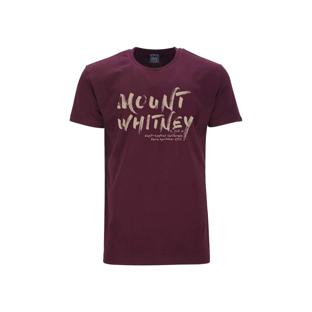 AHORN SPORTSWEAR T-Shirt mit modischem Print