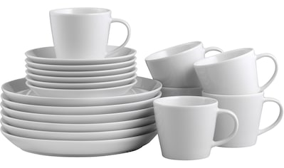 CreaTable Kaffeeservice »TRENDY«, (Set, 18 tlg.), Mikrowellengeeignet kaufen
