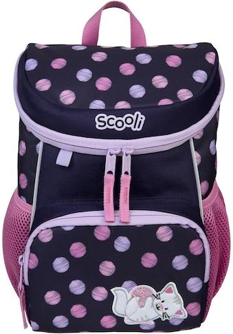 Scooli Kinderrucksack »Mini-Me, Caty Cat«, Reflektoren kaufen