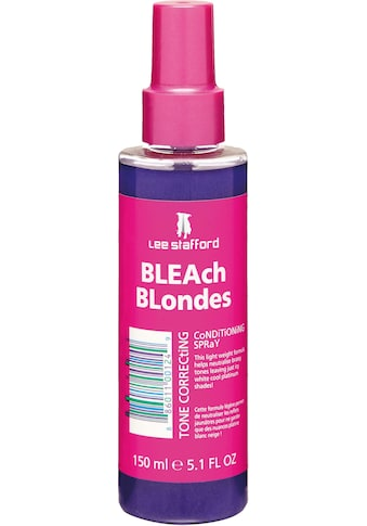 "Lee Stafford Leave - in Pflege ""Bleach Blondes Tone Correcting Spray"" kaufen"