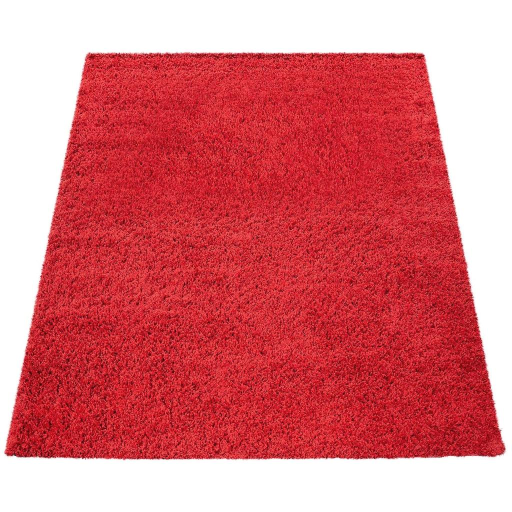 Paco Home Hochflor-Teppich »Sky 250«, rechteckig, 35 mm Höhe, intensive Farbbrillanz, Wohnzimmer