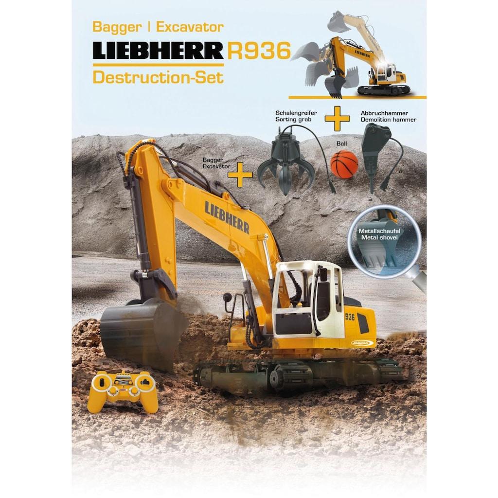 Jamara RC-Bagger »Liebherr R936«, mit Licht und Sound