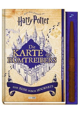 Buch Aus den Filmen zu Harry Potter: Die Karte des Rumtreibers  -  Eine Reise durch Hogwarts / DIVERSE kaufen