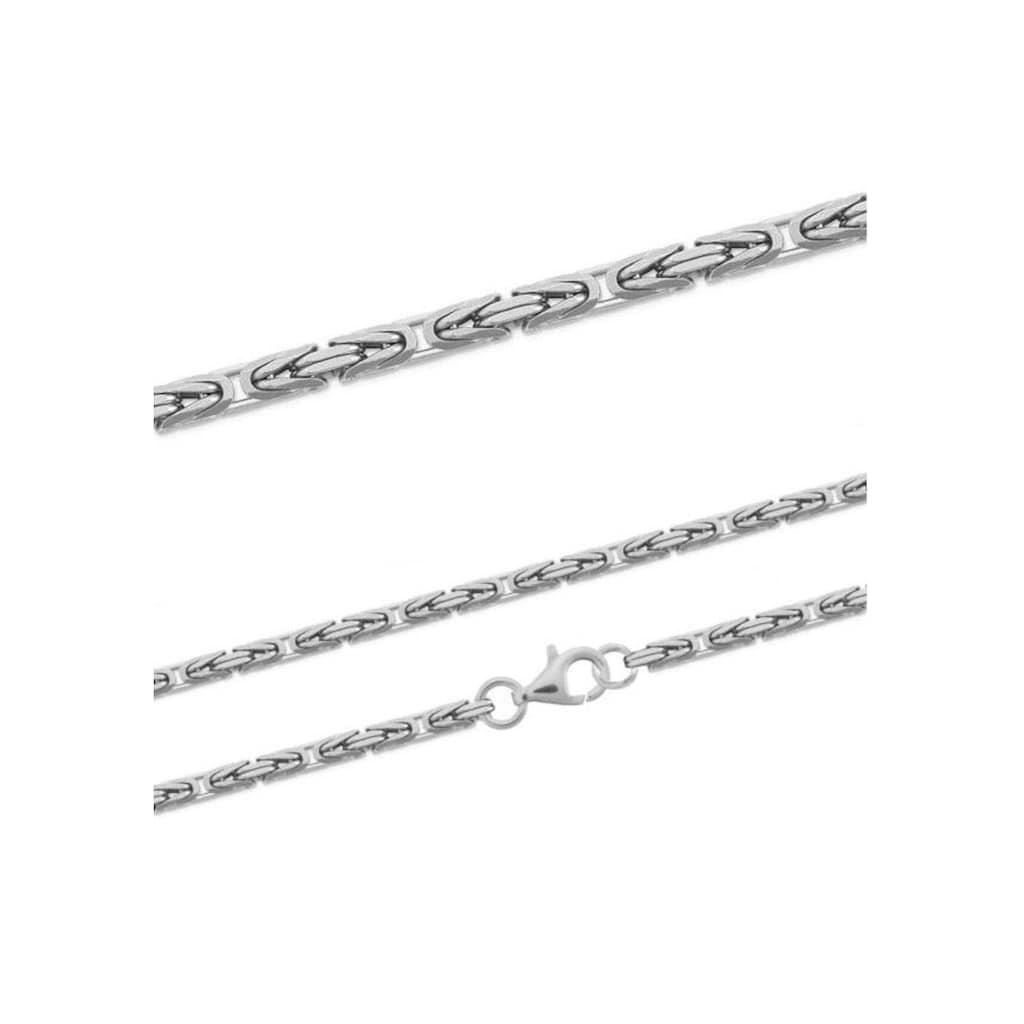 Firetti Silberkette »Königskettengliederung, ca. 2,5 mm breit«
