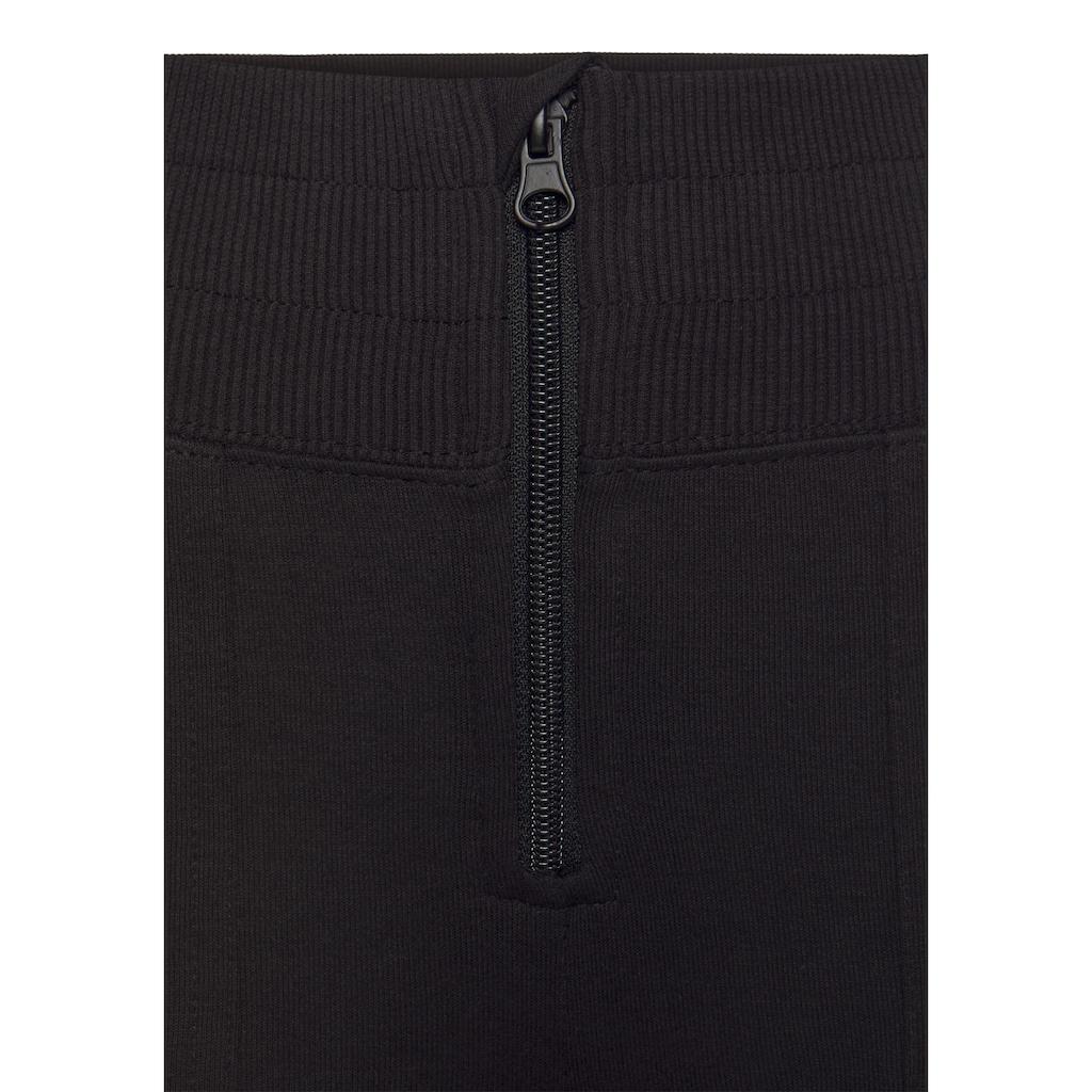 Buffalo Relaxhose, mit Reißverschluss vorne