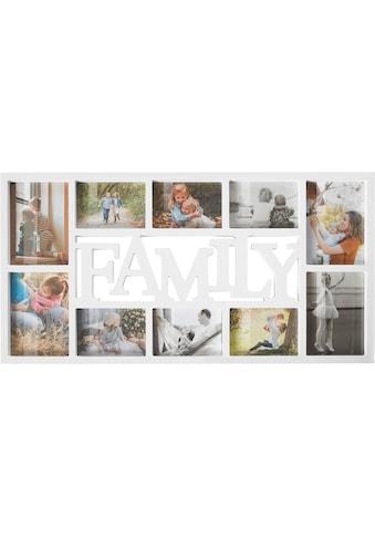 Home affaire Collagerahmen »FAMILY«, für 10 Bilder, mit Schriftzug kaufen