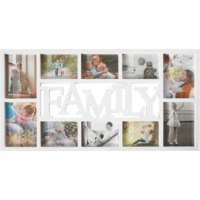 Home affaire Collagerahmen »FAMILY«, für 10 Bilder