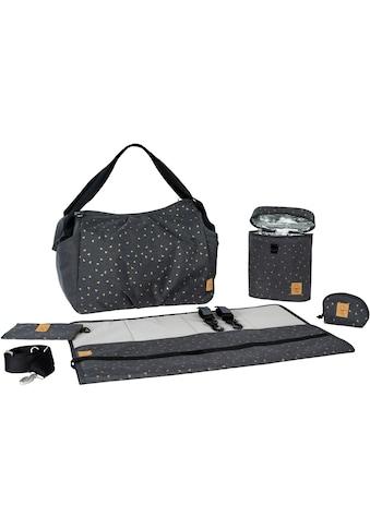 LÄSSIG Wickeltasche »Casual Twin Bag Triangle, Dark Grey«, mit Rucksackfunktion und... kaufen