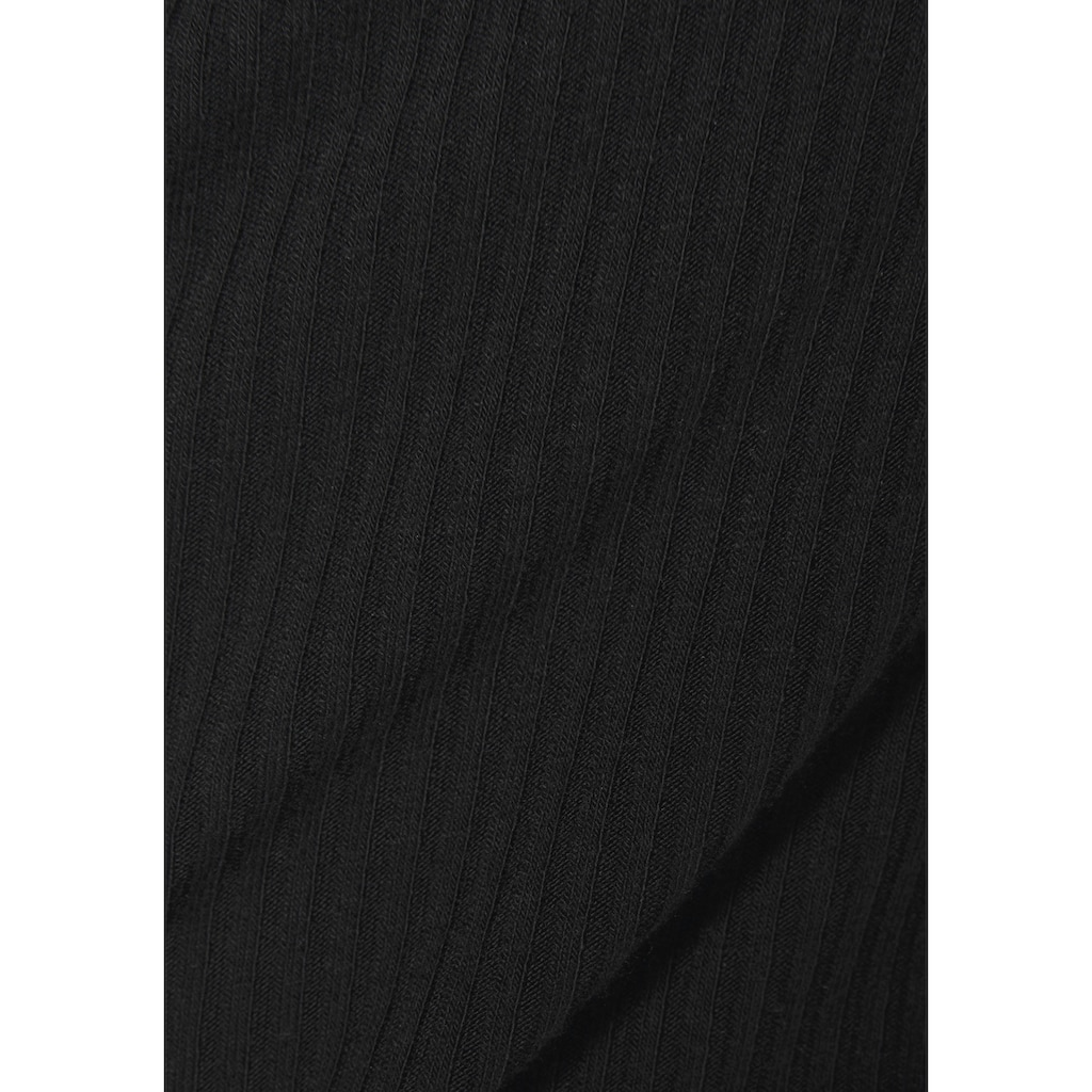Buffalo Kurzarmshirt, mit Wickeloptik