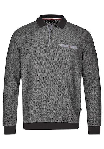Hajo Sweatshirt, in Zick-Zack-Melange kaufen
