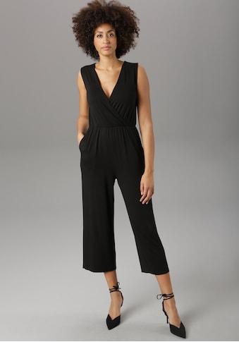 Aniston SELECTED Culotte-Overall, unifarben oder im modischen Druck kaufen