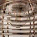 Brilliant Leuchten Sambo Pendelleuchte 3flg Rondell braun/Kaffee