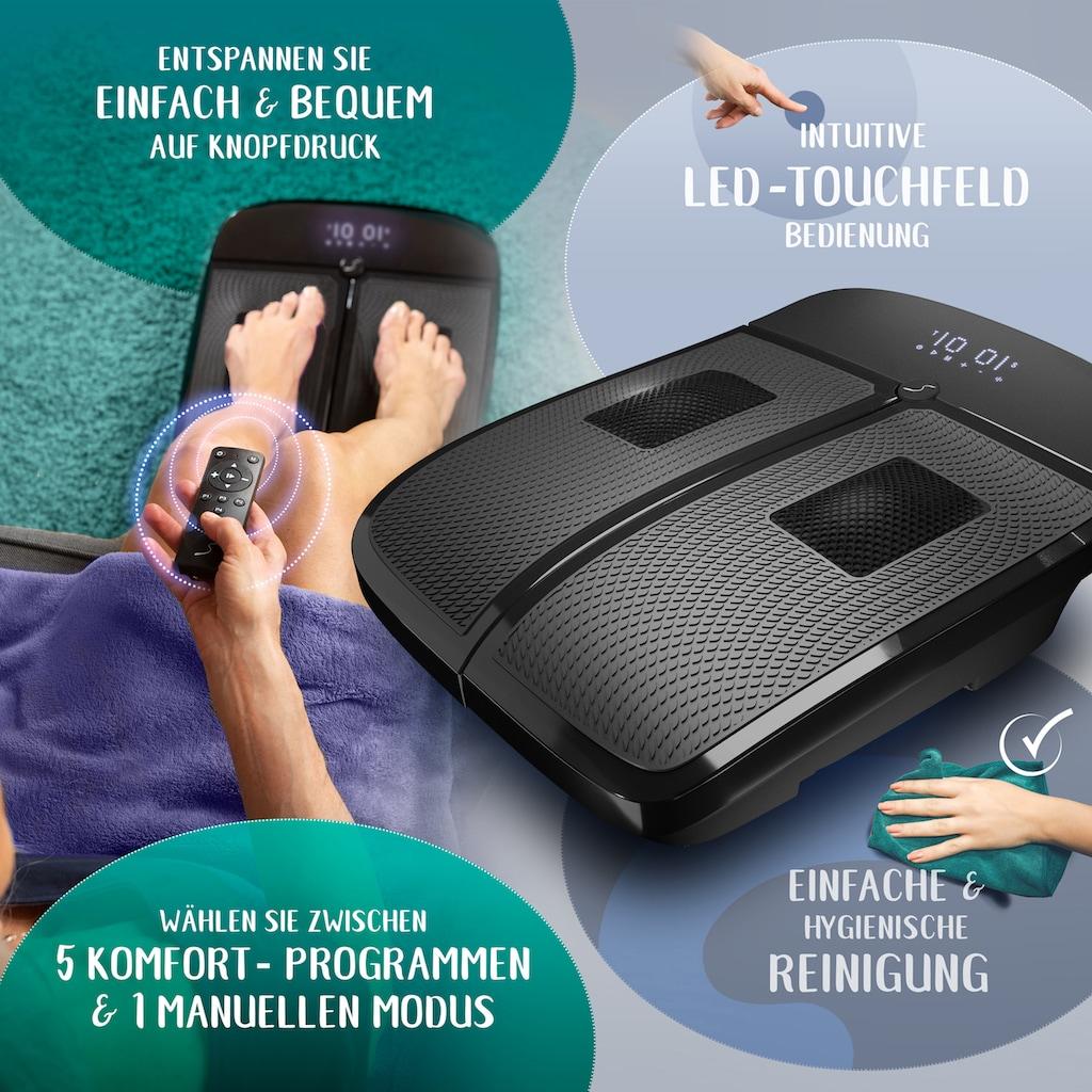 Sportstech Vibrationsplatte »VX350«, 50 W, 20 Intensitätsstufen, (Packung, 1 tlg., mit Trainingsplan)