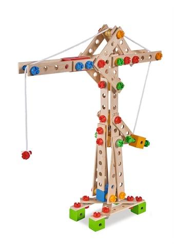 Eichhorn Konstruktionsspielsteine »Constructor, Kran«, (170 St.), Made in Germany,... kaufen