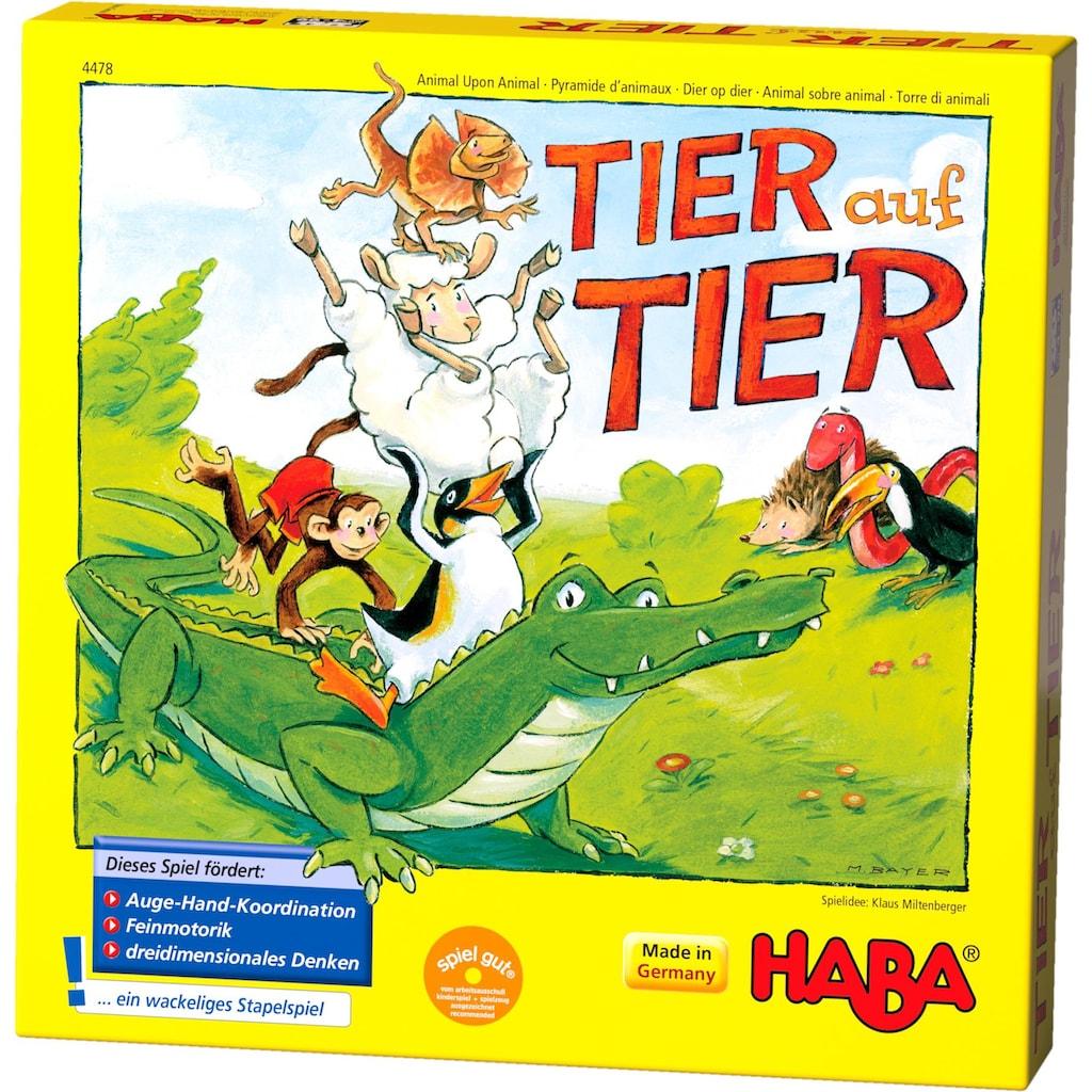 Haba Spiel »Tier auf Tier«, Made in Germany