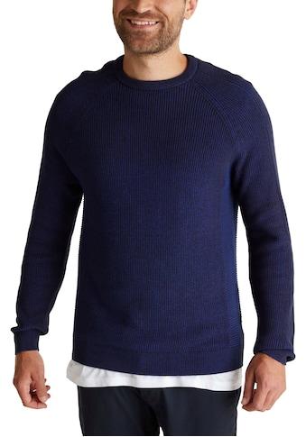 Esprit Rundhalspullover, mit Strickoptik kaufen