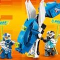 LEGO® Konstruktionsspielsteine »Jays Cyber-Drache (71711), LEGO® NINJAGO®«, (518 St.), Made in Europe