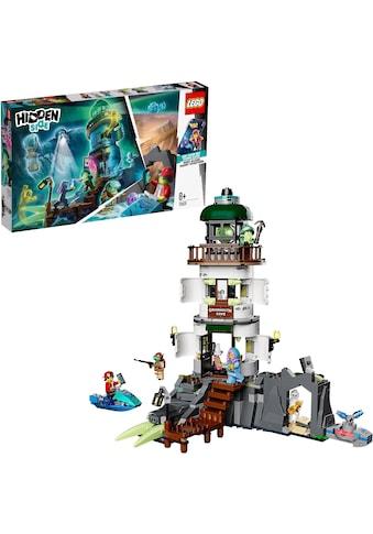 """LEGO® Konstruktionsspielsteine """"Der Leuchtturm der Dunkelheit (70431), LEGO® Hidden Side™"""", Kunststoff, (540 - tlg.) kaufen"""