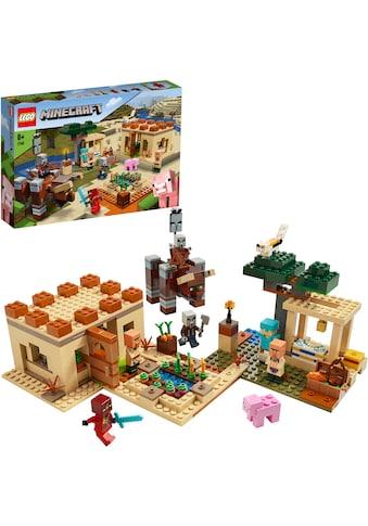 LEGO® Konstruktionsspielsteine »Der Illager-Überfall (21160), LEGO® Minecraft™«, (562... kaufen
