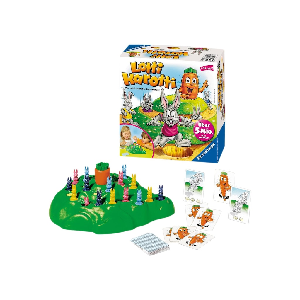 Ravensburger Spiel »Lotti Karotti«, Made in Germany, FSC® - schützt Wald - weltweit